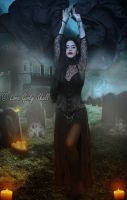 The queen of the damned by LaraGirlySkull