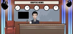 Kryptic News set by Heeeunee