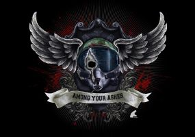 Among Your Ashes Logo by snakes23