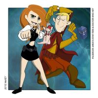 Kim Possible / Doctor Who Crossover by MikesStarArt