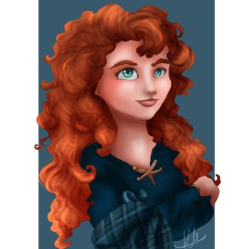 Merida by Hyzenthlay89