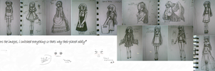 Best of Heo's Drawings - 2013 p2 by heophtia