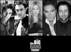 TheBigBangTheory_Wallpaper by paulohtf