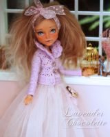 Lavender Chocolette - Custom Monster High Doll by blanki