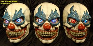 Evil Clown Head by Uratz-Studios