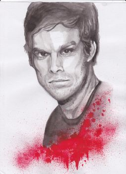 Michael C Hall by dthehippie