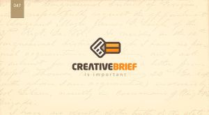 day 47 - creative brief by 365logoproject