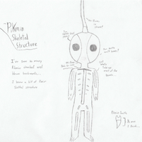 Pikmin Skeletal Structure by PikminHensley