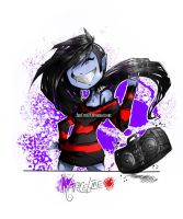 Dancin Marceline (AdventureTime) by JinxCrest101