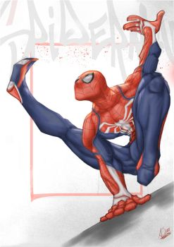 Spiderman PS4 by AtilaBass
