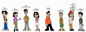 8 Crazy College Kids by mpcp13
