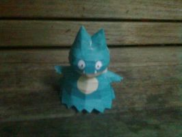 mini munchlax papercraft by turtwigcuTey