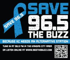 Save 96.5 The Buzz Campaign by brandimillerart