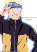 Happy Birthday Naruto by Kira-XD