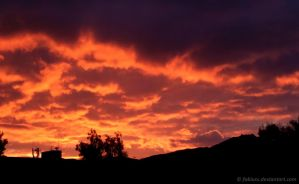 Sky on Fire by Fabiuss