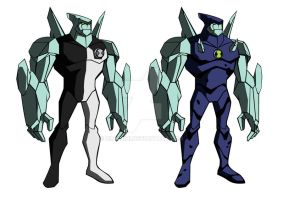 Diamondhead times two - GenRex artstyle by Zimonini