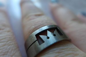 Kingdom Hearts Crown Ring by Valshe-chan