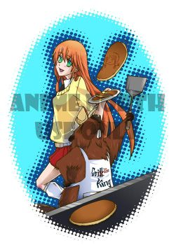 Anime North Apron 2012 by shunjin