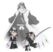 Bleach Part 2 - Byakuya by DarkeningFire