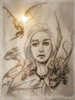 Game of Thrones - Daenerys by MellowMikey
