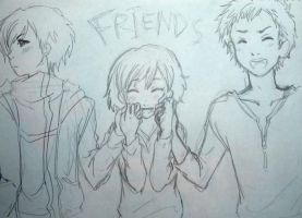 Friends by loveandpeacetotoro