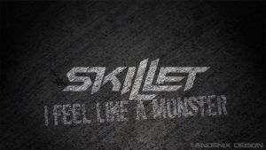 I Feel Like A Monster Wallpaper by Andenix