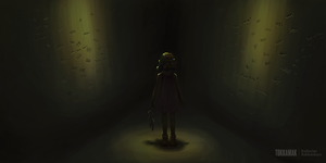Speedpaint: Labyrinth's empty child by tokkamak