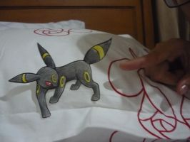 Umbreon Papermon by Veatrix