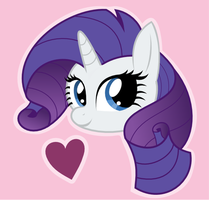 MLP: Rarity's Valentine by giantsquidie