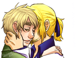 APH: Francis and Arthur by Shiraae