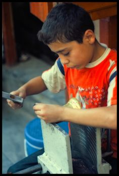Young copperworker - 2 by dostclick