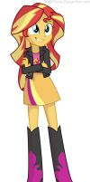 Sunset Shimmer by WAWToons