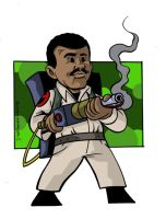 Winston Zeddemore of Ghostbusters fame by anthonymarques
