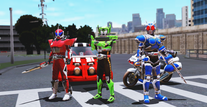 [MMD Render] Start your Police's Engine! by mhdnr29
