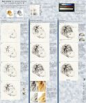 Drawing Blond Hair Tutorial by hedspace77