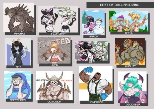Best of My Art 2016 by DullVivid