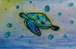Sea Turtle by KigerForest