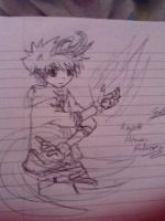 My attempt at tsuna from hitman reborn :I by punkrockgirl555