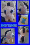 finished doctor whooves plushie by Jack-O-AllTrades