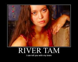 River Tam Motivational Poster by AlexisAuer