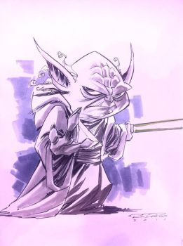 Sketch::Yoda by KharyRandolph