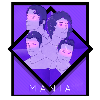 M A  N   I    A by gee-ky
