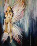 angel by brok3nwings