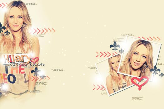 Hilary Duff Twitter BG by only-thi