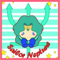 Chibi Sailor Neptune by MidniteHearts