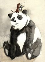 chinese pandaaaaa by Footroya
