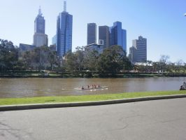 southbank yarra river 2 by LuchareStock