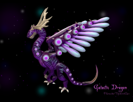 Galactic Dragon by FlameFatalis