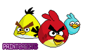 Angry Birds por PainterBits by PainterBits