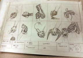 Hand Studies 2001 by thefreshdoodle